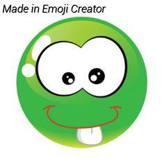 My emoji I made. Isn't it cool and weird