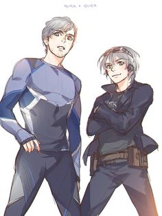 Like for X-men quicksilver, re-pin for Pietro in Avengers! (Personally I like Pietro much more)