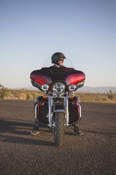 There are absolutely no limits to how far you can go or how good it's all going to feel. | 2017 Harley-Davidson Ultra Classic