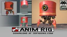 A fun character: -Model by Andrew Majewski Character Rigging, Rigs, Animated Gif, Minions, Maya, Animation, Concept, Fun, Tech