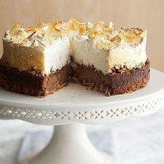 Coconut Meringue Cheesecake