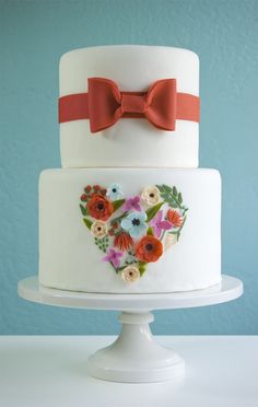 Rifle Paper Co. inspired Petal and Posies Cake