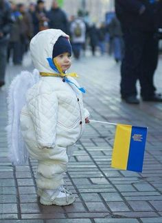 Maydan's Tinest Angel...Ukrainian Angel...