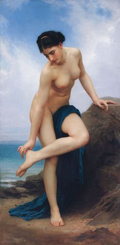 William-Adolphe Bouguereau (1825-1905) - After the Bath (1875) ♥♥♥
