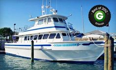 Groupon - Shark-Fishing Trip or Half- or Full-Day Fishing Trip from Obsession Charters (Up to 55% Off). Groupon deal price: $20.00
