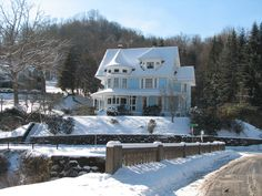 The Goodwill House in Bramwell, WV - the home of the millionaires
