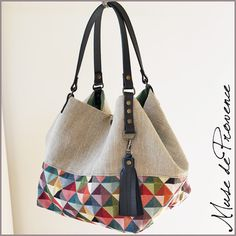 Patchwork Bags, Quilted Bag, Fruit Shakes, Love Sewing, Clutch, Knitted Bags, Jute, Bag Making, Tote Bag