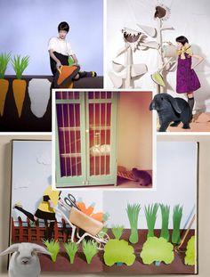 - WINACTIE STIJLKAART-  Ik zou graag een papieren tuin willen maken voor mijn konijnen Pip en Bloempje die binnen zitten. Het huisje (omgebouwde kast) hebben ze al, maar de ren om het huisje is nog erg kaal. Grote papieren wortels op de muur, zonnebloemen en groenten in de tuin, papieren hekje voor het hek wat er nu staat zou het geheel afmaken!