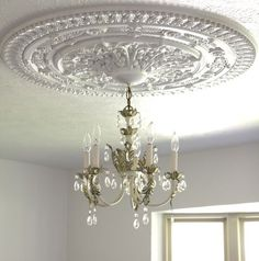 How to install a ceiling medallion for the home pinterest cool ceiling medallions google search aloadofball Gallery