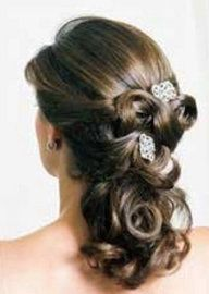 Half Up Wedding Hairstyles for Long Hair | Hairstyles for Weddings - hair up styles
