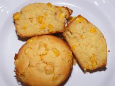 Did you ever have some of Kenny Rogers Roasters' Sweet Corn Muffins?  This one tastes just like it!  Try it to believe us.  :)