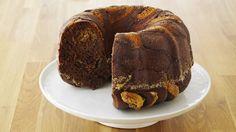 Gâteau brioché au chocolat et aux noisettes