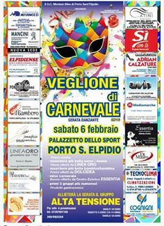 Veglione dei Carnevale  Palazzetto dello Sport - Porto Sant'Elpidio