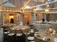 PROBABLY NO (pricey and add'l requirements)....Possible venue - dumbarton house