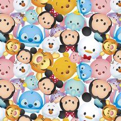 Disney Tsum Tsum Mickey and Friends Fleece