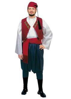 Traditional Greek male outfit