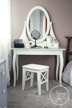 Bedroom Ideas For Teen Girls Tumblr, Home Bedroom, Bedroom Decor, Rangement Makeup, Makeup Vanity Decor, Vanity Room, Beauty Room, New Room, Room Inspiration