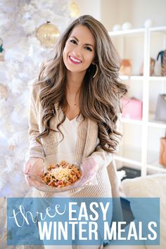 Three easy, healthy meals for wintertime