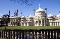 Brighton Pavilion - Built by The Prince Regent (before he was George IV). Because of this Brighton changed from a small fishing village to the large town it is today. Visit Brighton, Royal Pavilion, Seaside Resort, Weekend Breaks, Fishing Villages, East Sussex, Buckingham Palace, Taj Mahal, Things To Do