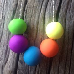 Colour pop. #myquirkyvalentine #Melbourne #madeinaustralia a#australianmade #jewellery #necklace