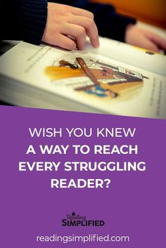 Wish you knew how to reach all struggling readers? | Reading Simplified offers free tools for teachers to help struggling readers, beginning readers, educators, families, homeschoolers, and more. | readingsimplified.com #readingcomprehension #teacherhacks #learntoread #teachyourchildtoread #reading