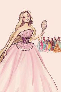 I kolejna z pięknych pań-Roszpunka #Disney #Rapunzel