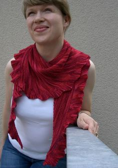 Lintilla Shawl By Martina Behm - Purchased Knitted Pattern - (ravelry)