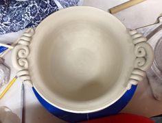 CK pottery handles