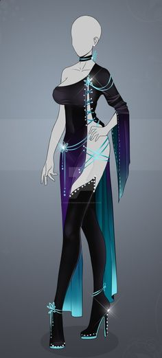 [ OPEN ] Auction Adopt - Outfit 476 by CherrysDesigns.de... on @DeviantArt