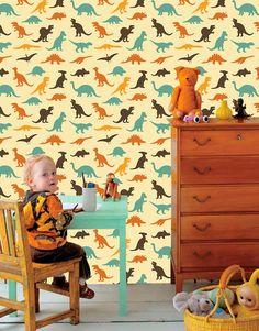 Papel de Parede   - Infantil Dinossauros