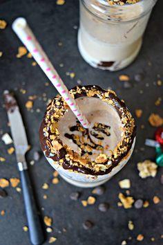 Chickoo Milkshake -