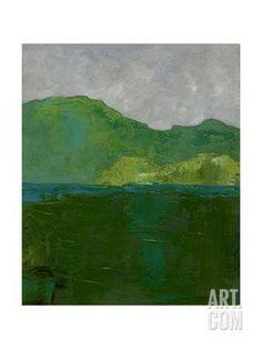 Blue Ridge II Art Print by Chariklia Zarris at Art.com