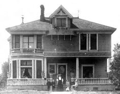"H. Clay Kellogg House, Santa Ana, 1903    		There are no known copyright restrictions on this image. All future  uses of this photo should include the courtesy line, ""Photo  courtesy Orange County Archives."""