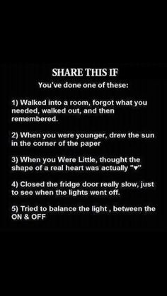 Done all of these!!!!!