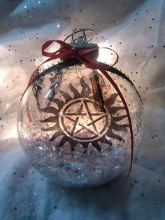 Hand Painted Supernatural Ornament Set of 4 by TheArtistHaley ...