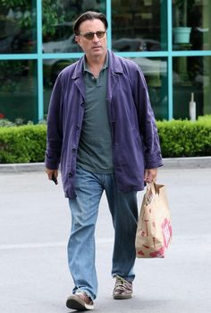 Andy Garcia - Andy Garcia Out Grocery Shopping