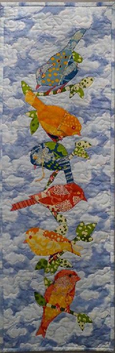 "Vivian Helena Gallery - Birds of Many Colors - 11.5"" W x 13.5"" L Commercial…"