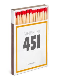 Hamish Robertson's cover for Fahrenheit 451