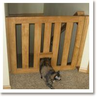 Gatekeepers: We Went With A Gatekeeprs Gate For A Difficult To Fit Space,  And