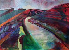 Inner track, Rawlsbury by Sue Fawthrop