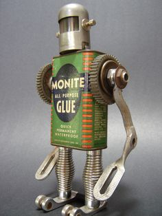 Monite Man (assemblage art) | Flickr - Photo Sharing!