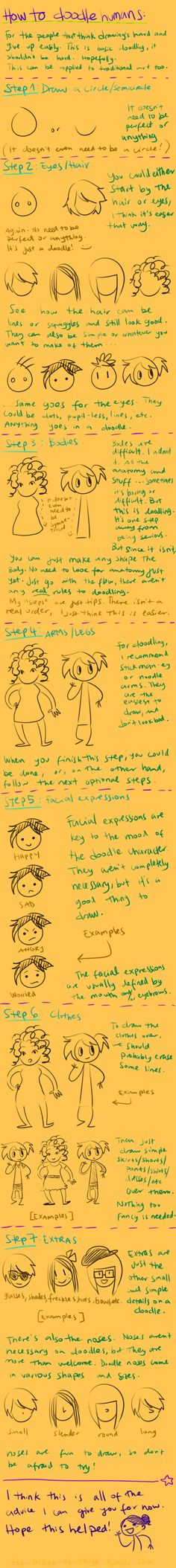 doodling tutorial by Mistakes13.devian...