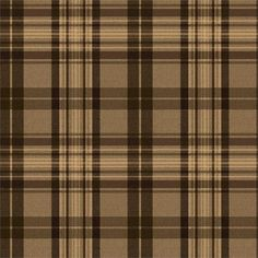 Dark Brown Austin Plaid Wallpaper is pre-pasted and has 10.25 inches pattern repeat. Collection name: The Modern Gentleman Size of each double roll