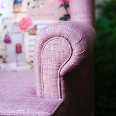 Pembe ayak Berjer,sırt detayı faklı kumaş.satış için Enmodahome.com