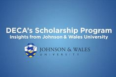 How to Construct a Winning Scholarship Application - DECA Direct Johnson & Wales University, Helpful Hints, Insight, Useful Tips, Handy Tips
