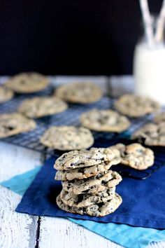 Malted Milk Cookies and Cream Cookies | A Nerd Cooks