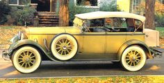1929 Mercedes-Benz 38-250 SS Dual-Cowl Phaeton Yellow & Olive