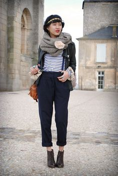 French Obsession:--cropped trousers--
