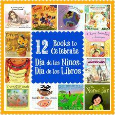 12 Books to Celebrate Dia de los Ninos, Dia de los Libros