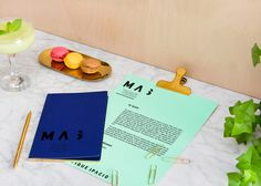 Branding for Masquespacio interior-design studio renovation in Valencia Spain